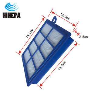 Image 2 - 10pcs S bag Dust Bags and 1pcs H12 Vacuum Cleaner HEPA Filter for Philips Electrolux FC9083 FC9087 FC9088 Vacuum Cleaner Parts