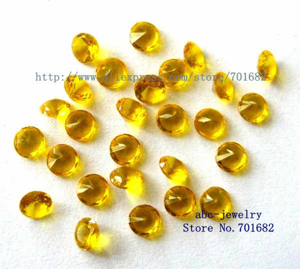 wholesales 4mm Topaz November floating charm 10pcs round birthstone for floating locket as families friends gift free ship