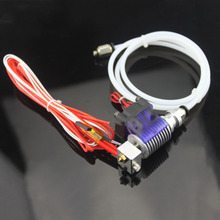 3D Printer J-head Hotend with Cooling Fan for 1.75/3.0MM v6 Bowden Wade Extruder 0.2--1.0mm Nozzle+Volcano kit цена