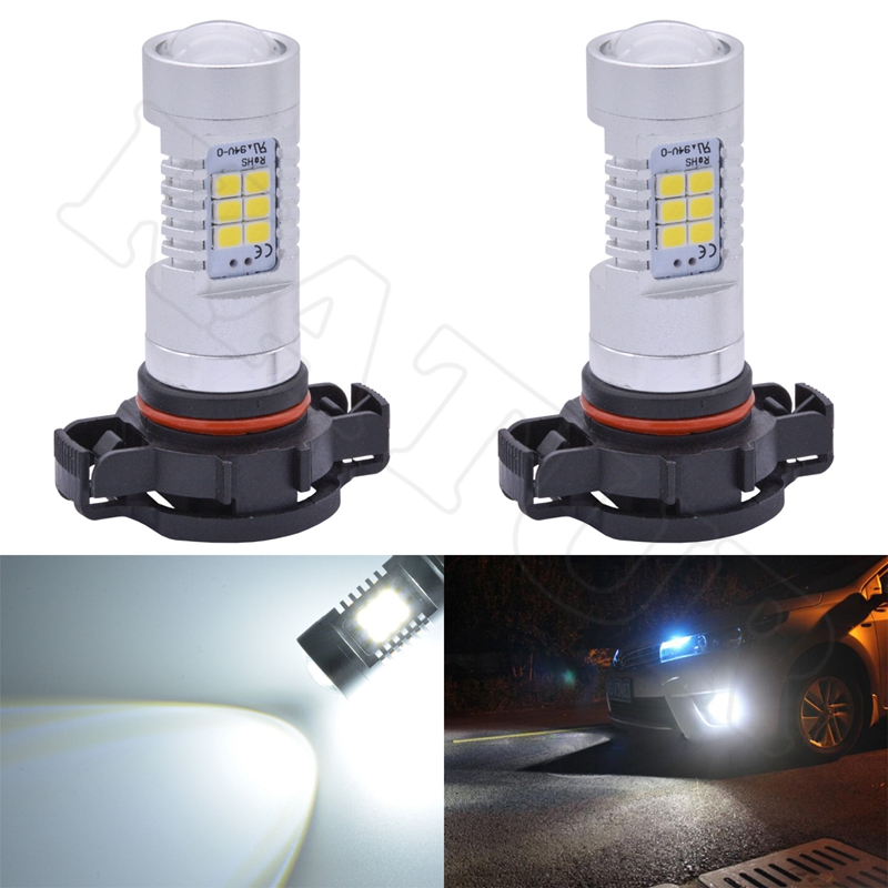 2x 80w CANBUS Car Led Fog Daytime Running Light H4 H7 H8 H11 H15 H16/5202 9005/HB3 9006/HB4 External Light Xenon 6000K White DRL front rear special leather car seat covers for toyota corolla camry rav4 auris prius yalis avensis suv auto accessories