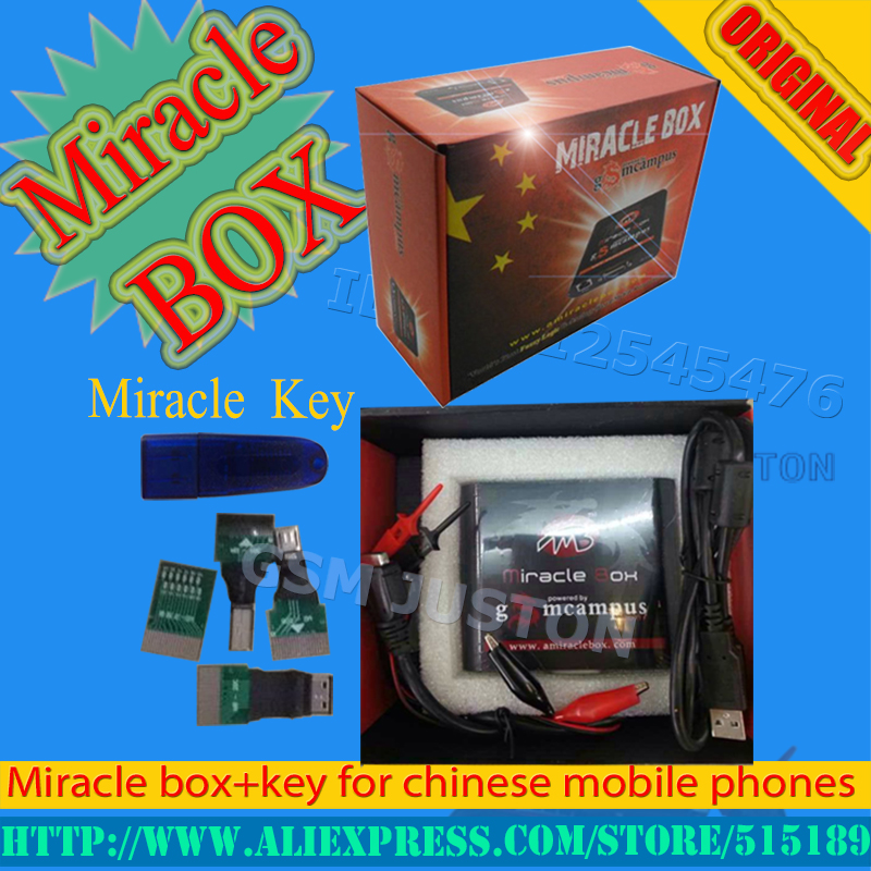2017 100 Original Miracle box Miracle key with cables v2 48 hot update for china mobile