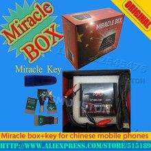 2017 100% Original caja + Milagro Milagro clave con cables (v2.48 actualización caliente) para teléfonos móviles de china Desbloquear + reparación de desbloqueo