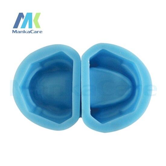 Manka Care-moule en caoutchouc sans dents/moule en caoutchouc silicone de haute qualité holostomateux sans modèle de dents