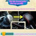 Cuero negro conjuntos de engranajes collares turno perilla del freno de mano se pega la lámpara para gran muralla Haval H1 H2 / H5 / H6 / Coupe / H8 / H9 / H3 / H7 / M1 / M4 etc