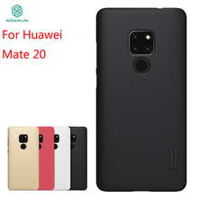 все цены на For Huawei Mate 20 Case Cover NILLKIN High Quality PC Case For Huawei Mate 20 Super Frosted Shield For Huawei Mate 20 6.53'' онлайн