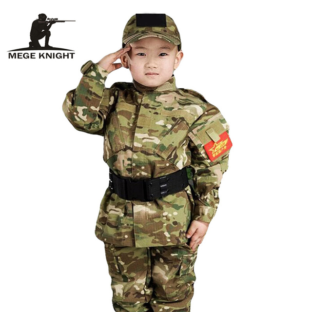kids airsoft military tactical uniform sets teenager army clothing