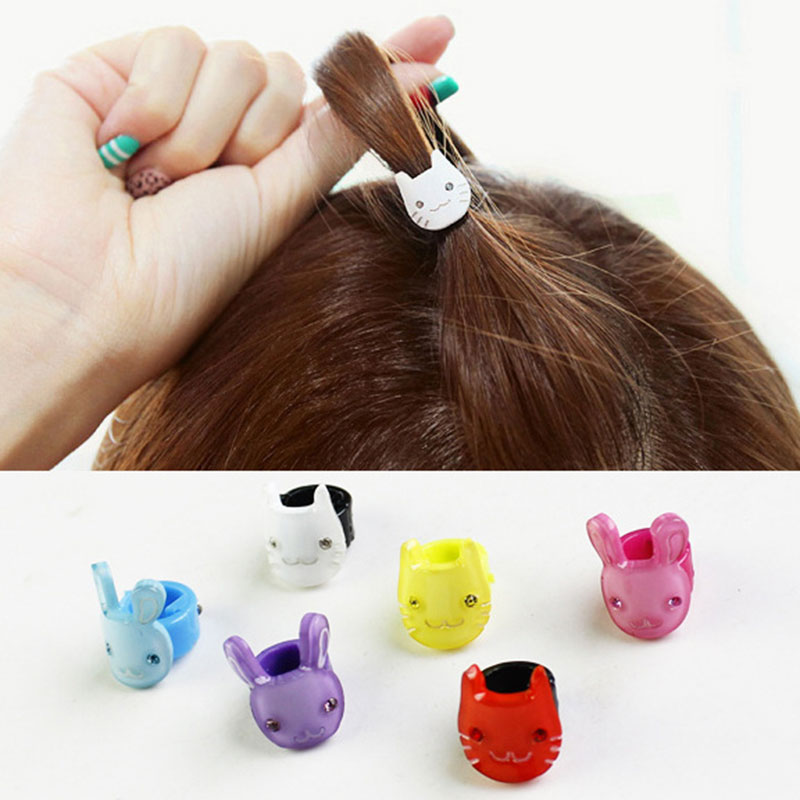 1Pc Mini Assorted Small Bunny Kitten Hair Clips Baby Hair Pin Cute Claw Clamps Decor For Girls Cat Design Hair Ornament Headwear
