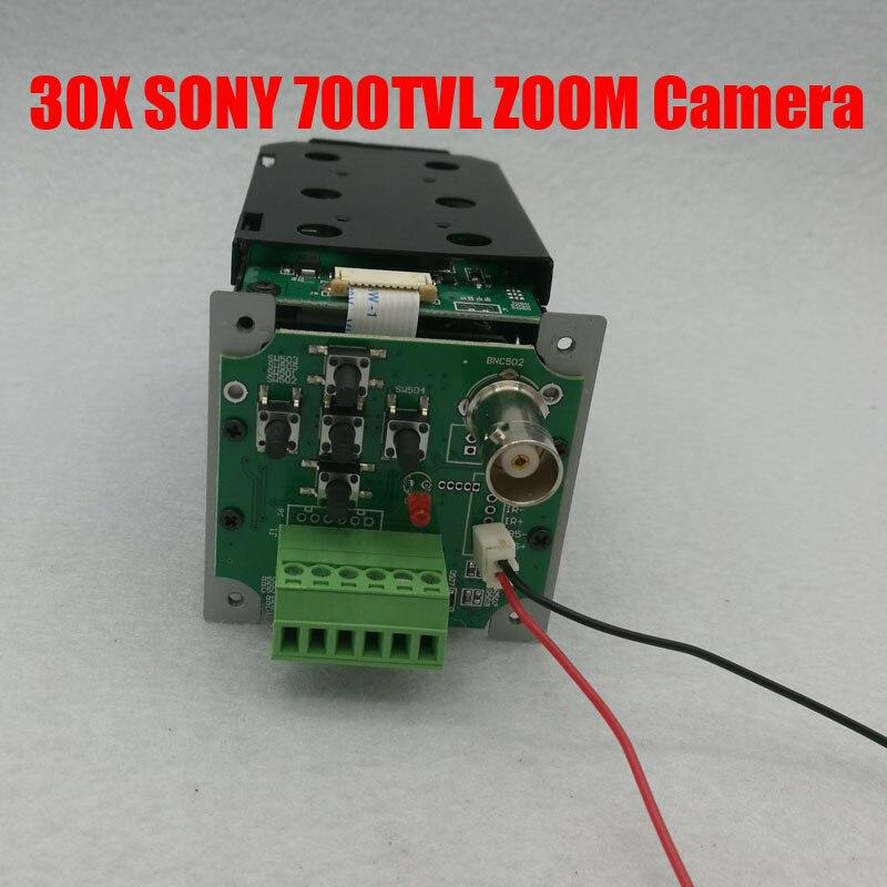 1/3 700TVL Sony CCD 30x Optique Numérique ICR CCTV Vitesse Dôme Zoom Caméra Module Module avec contrôle conseil Objectif livraison Gratuite