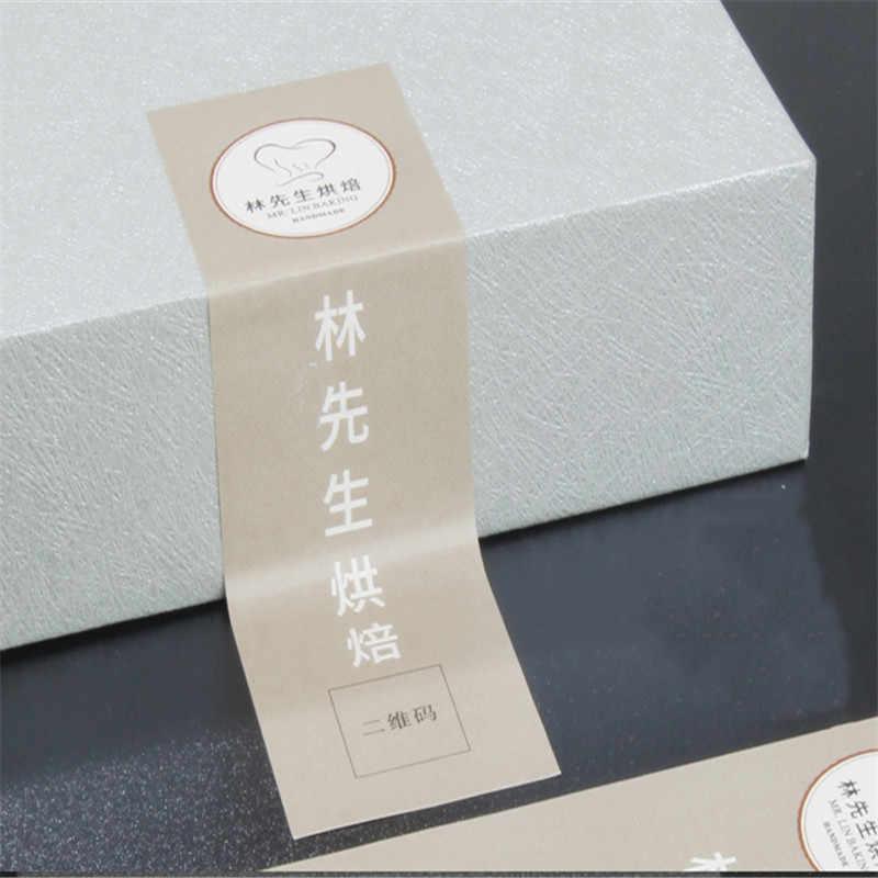 2019New Лидер продаж бесплатный дизайн Стикеры метка индивидуальное лого бумага для печати kraft ПВХ разных Тип Размеры Подарочная этикетка белого и черного цвета