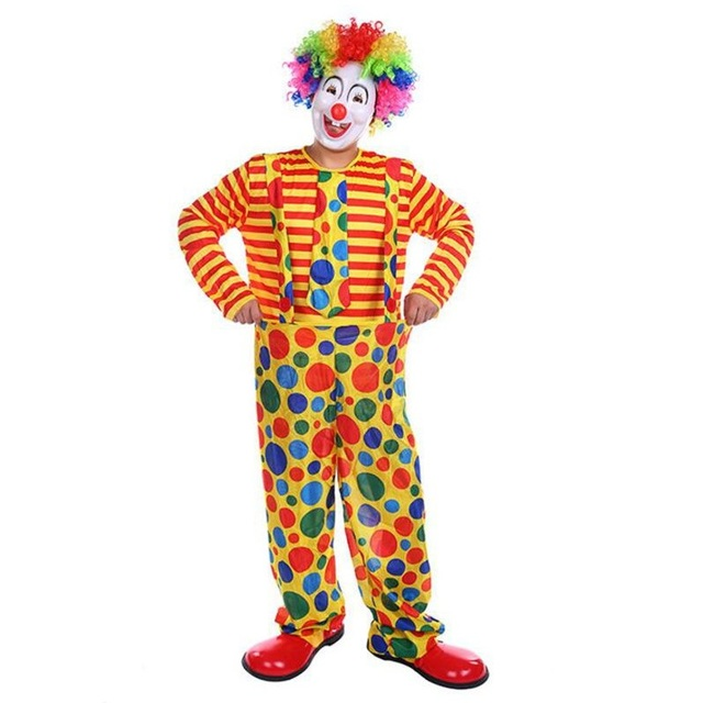 Menu0027s Cute Clown Costume Cosplay Adult Halloween Carnival Party Performance Clown Cosplay Costumes For Hot Sale  sc 1 st  AliExpress.com & Menu0027s Cute Clown Costume Cosplay Adult Halloween Carnival Party ...