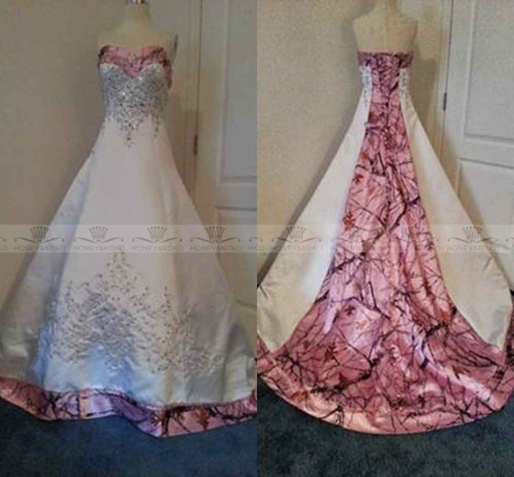 list detail pink camo wedding dress pink camo wedding dresses Realtree Camo Wedding Dresses and Formal Attire