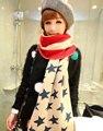 2015 New atacado dos eua bandeira americana Patchwork cachecóis de malha para mulheres homens Top qualidade inverno lenço no pescoço