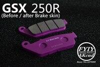 Motorcycle Frint/Rear Brake Pads For Suzuki GSX250R DL250 GSX250 GW Brake Disks motorcycle accessories