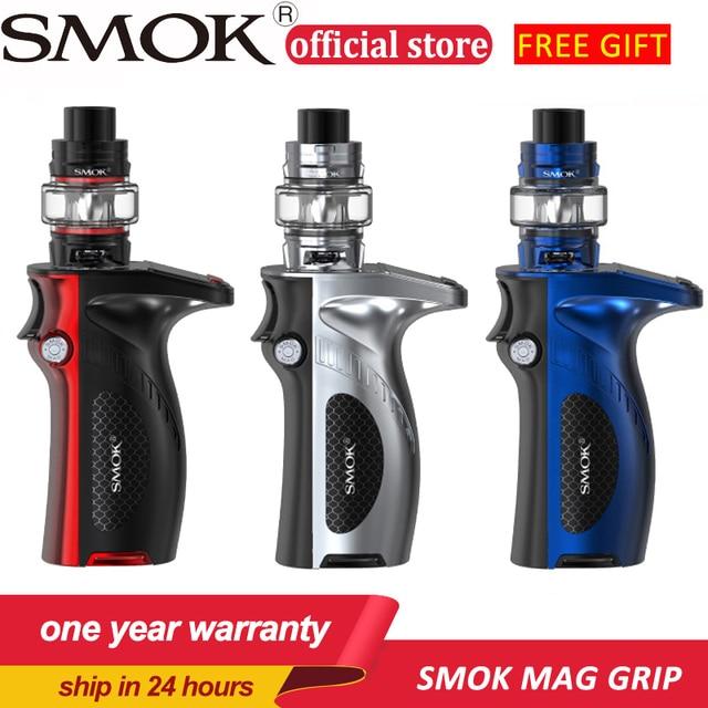 SMOK Mag Grip 100W Mod Kit 5ml TFV8 Baby V2 Tank Vaporizer S1 S2 Coil 85W Mag Box Electronic Cigarette Kit VS X PRIV G-PRIV 2