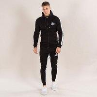 Men S Hoodies Pants Brand Warm Autumn Winter Track Suit Suitable For Men Casual Tracksuit Man