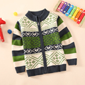 NEW Free Shipping children's clothing child sweater cardigan kids 80%cotton sweater outerwear thickening jacket for baby