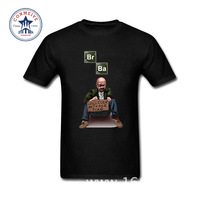 2017 Funny Hip Hop Printed Funny BREAKING BAD Los Pollos Hermanos Funny T Shirt For Men
