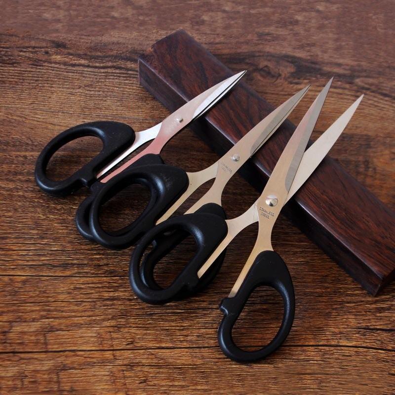 Прочные бытовые ножницы из нержавеющей стали Офисные ножницы для резки бумаги Острые Ножницы студенты DIY ножницы инструмент кухонные ножницы