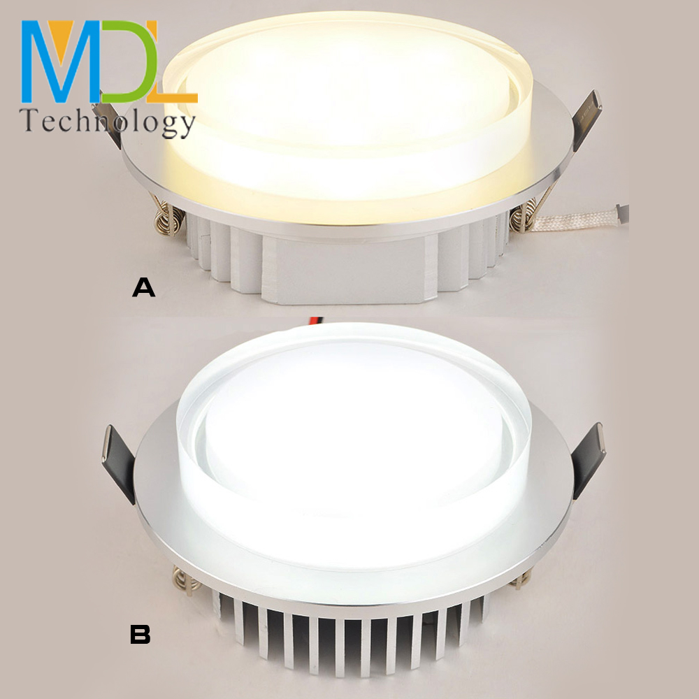 Modern Crystal LED Downlights 3W 5W 7W Ceiling Recessed Wall Spot Lamp AC85-265V Indoor Home <font><b>Lighting</b></font> Bathroom Bedroom Spotlight