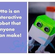 Swiftflying OTTO arduino нано-робот с открытым исходным кодом от препятствий DIY humanity playmate 3D