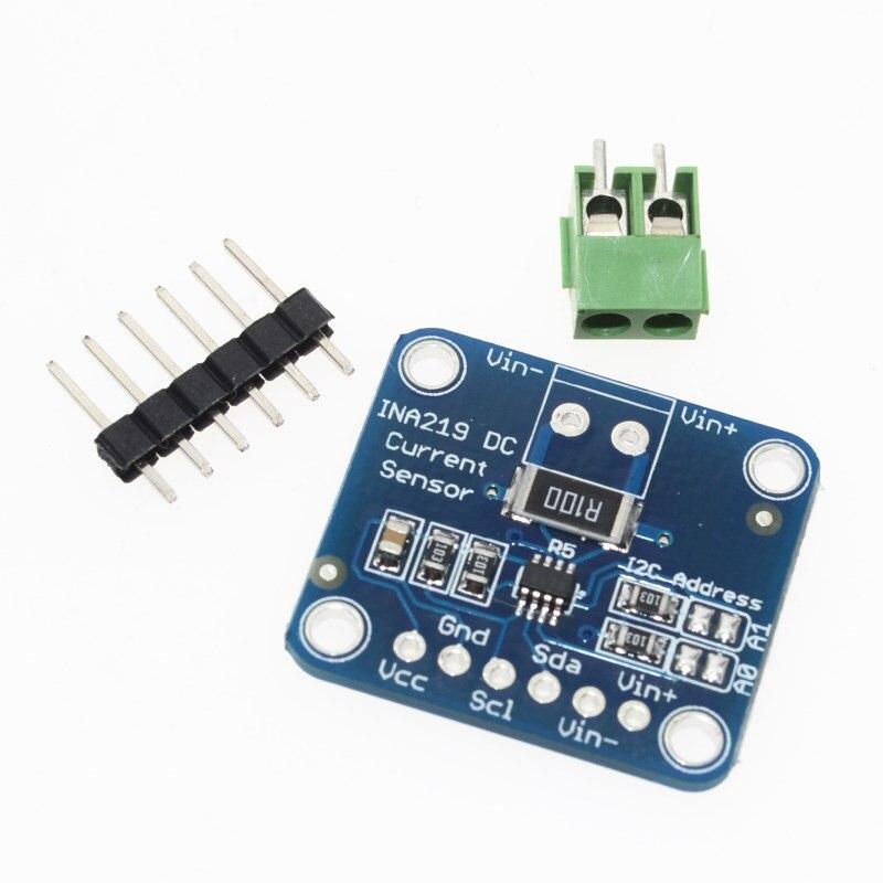 Module de capteur bidirectionnel de surveillance de courant/puissance de linterface CJMCU-219 INA219 I2C de dérive zéro