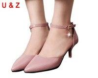 Güzel sivri burun patent deri kitten topuklar (Çıplak/Gri/Kırmızı) genç bayanlar ayakkabı, Büyüleyici inci ayakkabı nedime 40mm düşük topuklu