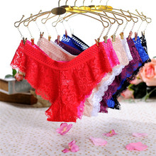 Women Sexy Lace Lingerie G-String Briefs Underwear Panties T string
