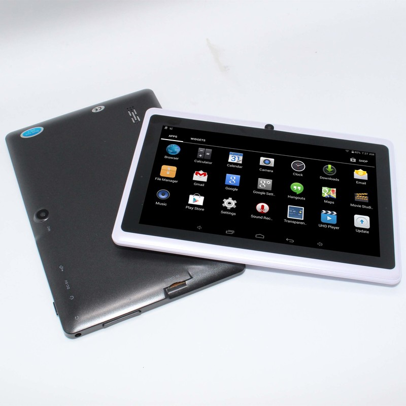 7inch PC tablet A88S Android 5.1 Allwinner A33  Wifi Bluetooth with  1GB/8GB G-sensor quad Core  1024*600(China)