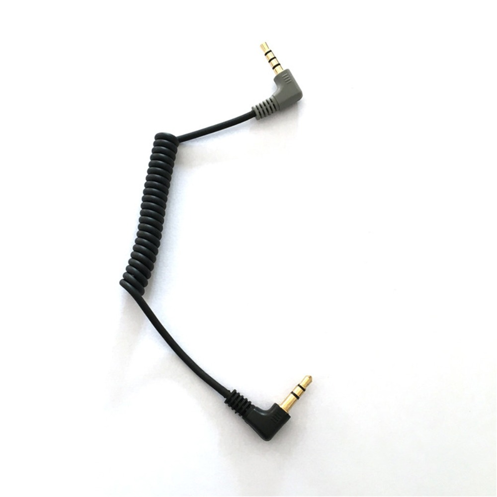 Ulanzi 3.5mm TRS To TRRS Adapter Cable For RODE VideoMicro VideoMic Go BY-MM1 Transfer From Smartphone To Microphone Directly