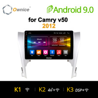 Ownice K1 K2 2 Din 8 Core Android 8,1 автомобилей Радио Авто gps навигации для Camry v40 v50 v55 2007 2016 Штатная Автомобильная стерео система