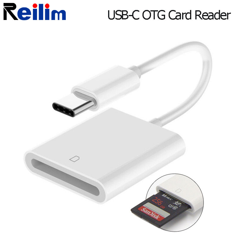 SLR Camera SD Card OTG Adapter USBC Card Reader Conversion Kit Typec Connect Cable For IPad Pro Samsung Galaxy Huawei Smartphone