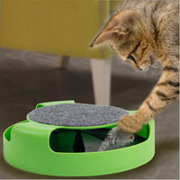 Free Shipping Cat Rotary Table Newest Pet Supplies Shops For Cat Toy Amusement Play Catching Mice