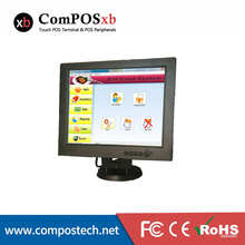 Free Shipping High Quality 12″ All In The PC Touch Screen Monitor For POS System Black TM1201 For Supermarket