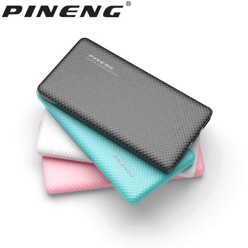 Asli PINENG PN-958 10000 mAh Power Bank Portable PoverBank dengan Dual USB Output LED Display Baterai Cadangan Eksternal Eksternal