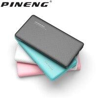 Orijinal PINENG Çift USB ile 10000 mAh Güç Bankası Taşınabilir PoverBank PN-958 Çıkışı LED Ekran Harici Yedekleme Acil Pil