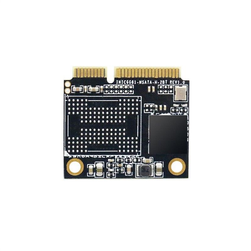 Kingspec SSD HDD moitié MSATA 240GB SSD 256GB Module MSATA disque dur pour ordinateur disque dur à semi-conducteurs interne - 3