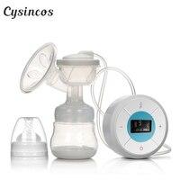 CISINCOS Brand Milk Pumps Electric Breast Pump Natural Suction Enlarger Kit Breast Feeding Bottle USB Breast Pump