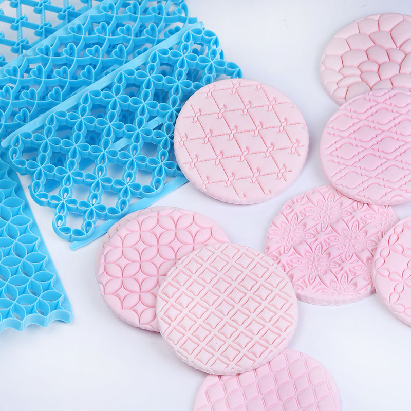 Cute Fondant Cake Pastry Art Embossing Biscuit Cutter Mould Cake Decorating Supplies Fondant Decoration Tools Baking Tools