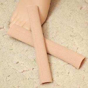 Image 5 - 1 قطعة 15 سنتيمتر النسيج هلام أنبوب ضمادة إصبع و تو حماة القدم قدم الألم الإغاثة الحرس ل قدم الرعاية النعال