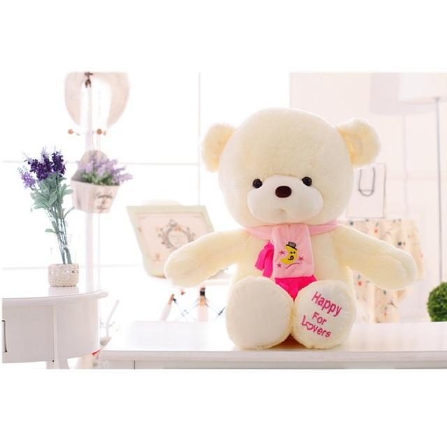 Teddy Bears with Scarf