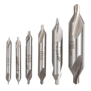 1pc 1mm /2mm /3mm /5mm HSS Combined Center Drills Bits 60 Degree Countersink Drill Set For Power Tools Drill Bits