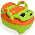 Linda vaca ABS mictório crianças dos miúdos do bebê toilet seat potty cadeira para crianças de formação frete grátis 1 pc/set