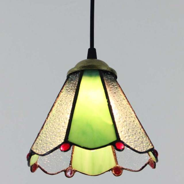 Placeholder Fumat Stained Gl Lights European Art Lampshade Kitchen Living Room Lighting For Dining Led