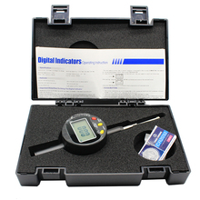 1PC High-Precision Digital Indicators 0-25.4x0.01mm  Range 0-25.4mm Resolution 0.01mm Digital Display Percentage Dial Indicator shahe 0 12 7mm 0 001mm high accuracy electronic digital micron indicator 0 001mm digital indicators
