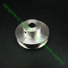 цена на GT2 Timing pulley 50 Teeth 8mm Bore for 6mm Width Belt,2pcs/lot.