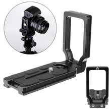 цена на For Canon 70D 60Da 5Ds 6D 7D 5D Mark II/III MPU105 Quick Release L Plate Aluminum Alloy New Durable