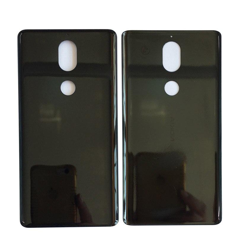 Competente Pannello Di Copertura Posteriore Per Nokia 7 Custodia In Metallo Coperchio Della Batteria Parte Di Riparazione Con Nastro Adesivo