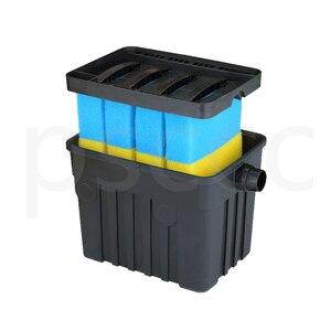 Image 2 - YT 9000 Binnenplaats vijver biochemische filter, waterzuivering apparatuur, filter doos, meerdere filters, ultraviolet sterilisatie.