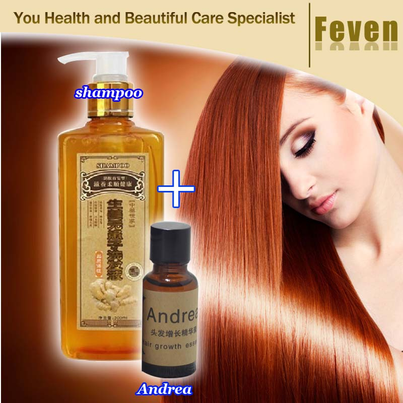 professional ginger shampoo and conditioner means for hair growth essence liquid anti hair loss, fast growth dense for all hair цена