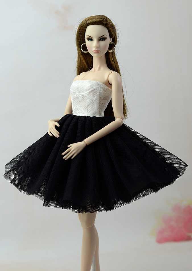 Nuovo handmake Vestito Da partito di modo vestiti Per La bambola di Barbie più stile disponibile
